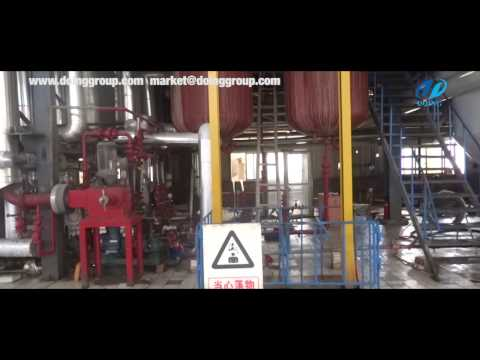 Bio-diesel production plant video