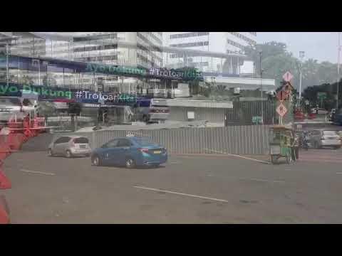 Roda Dua Telah Bebas Melintas di Jalan MH Thamrin Hingga Medan Merdeka Barat