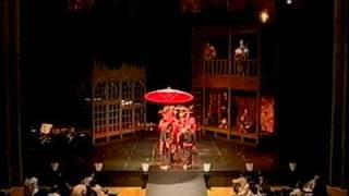 こんにゃく座 好色一代男(2005) 花魁道中 曲:萩京子 台本・演出:山元...