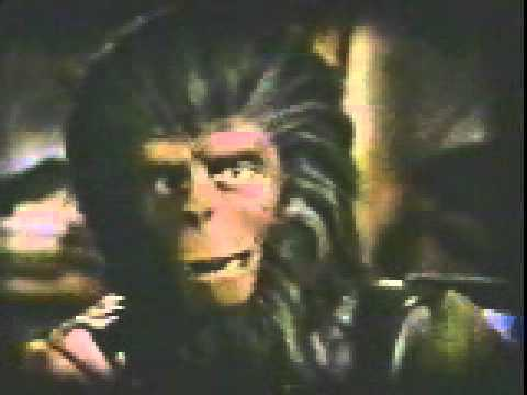 Planet of the Apes Old Galen 1981 TV Wraps 5B