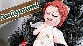 Como fazer um anjinho em amigurumi para o natal