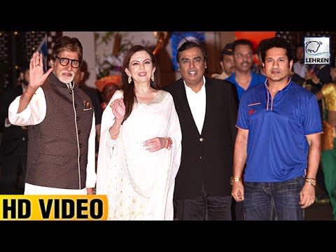 Ambani's Grand Party For Mumbai Indians Victory IPL 2017 | Amitabh, Sachin | LehrenTV