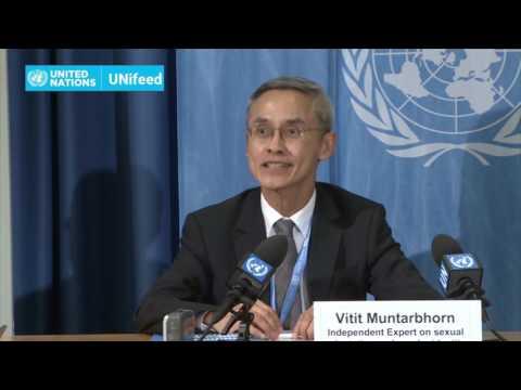 LGBT Report by UN Special Rapporteur