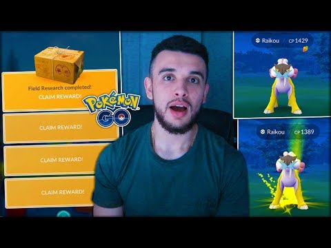 TWO LEGENDARY POKÉMON FROM ONE RESEARCH BREAKTHROUGH! UNBELIEVABLE GLITCH! (Pokémon GO)
