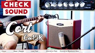 Cek Sound Cort CM15R Electric Guitar Amplifier Harga Murah Dibawah 1 juta