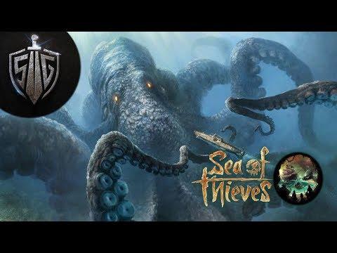 Kraken ile Köpekbalığı ilişkisi  I  Sea of Thieves #7