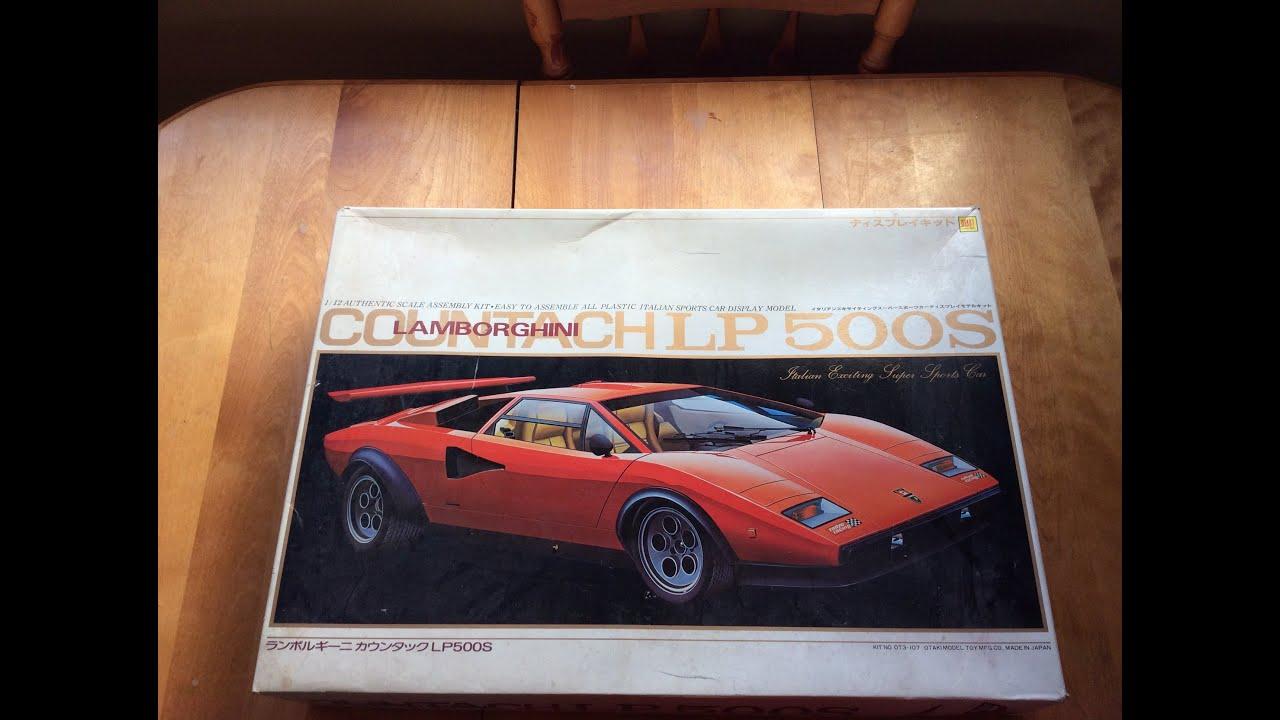 Diaki 1 12 Lamborghini Countachlp 500s Youtube