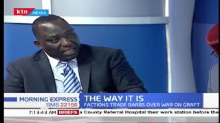 Atwoli claims Ruto's name will not be in the ballot in 2022