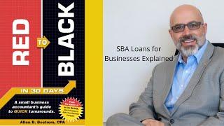 SBA Loans for Businesses Explained