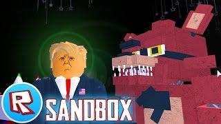 Roblox FIVE NIGHTS AT FREDDY'S Donald Trump Game!