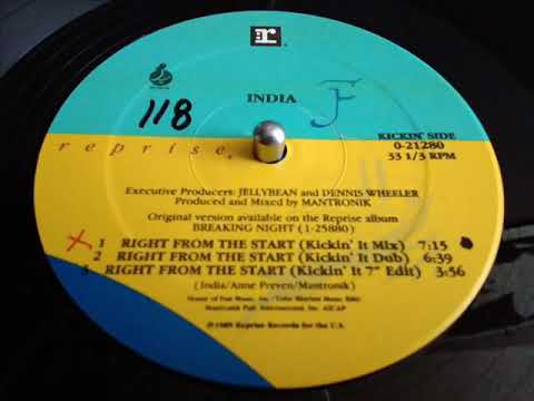 INDIA- RIGHT FROM THE START [KICKIN' MIX]