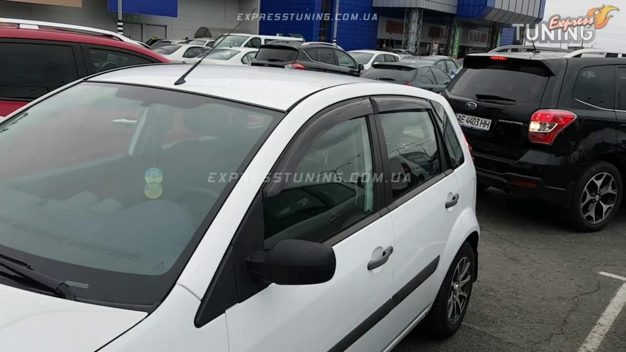ford fusionдефлекторы, ветровики,мухобойки