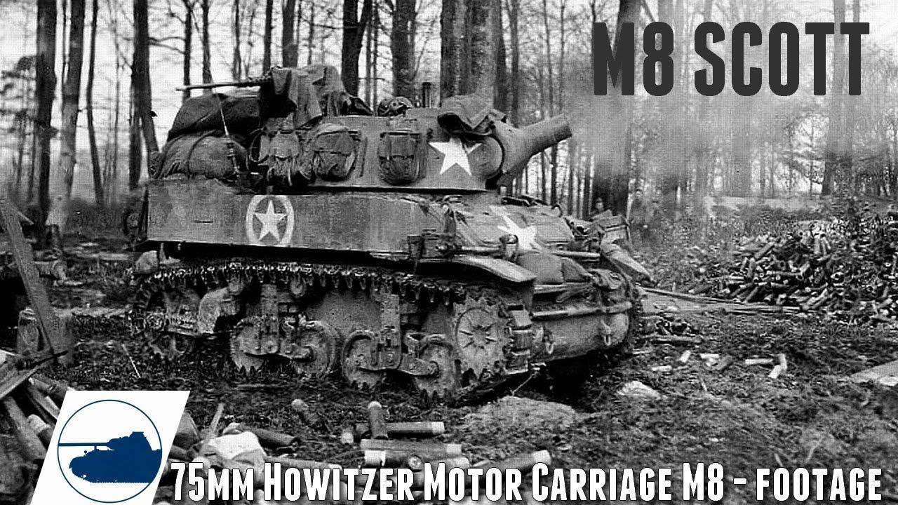 Download WW2 M8 Scott Footage. Pt 1.