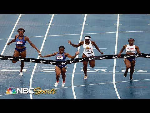 Dezerea Bryant dominates en route to 200 meter national title | NBC Sports
