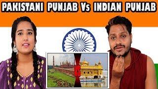 Indian Reaction On Pakistani Punjab Vs Indian Punjab | Krishna Views