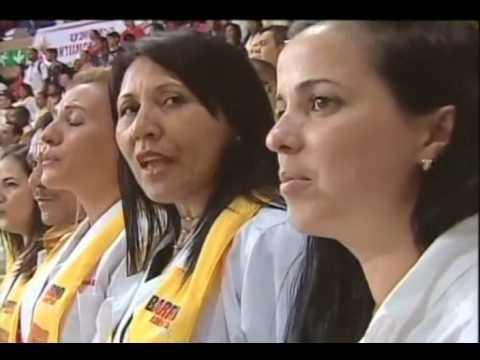 Presidente Maduro gradúa 5 mil médicos integrales en el Poliedro de Caracas, 8 octubre 2016