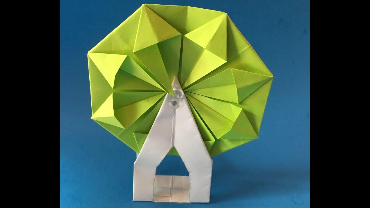 how to make origami ferris wheel paper ferris wheel ... - photo#18