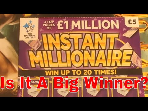 Winning Video From National Lottery Sratch Cards By NL Dreams (003)