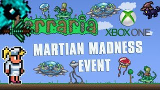 Terraria Xbox One Let's Play - SPAWNING MARTIAN MADNESS EVENT [150]