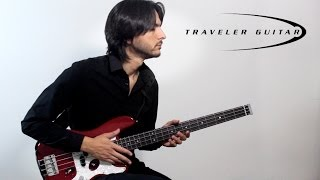 Traveler Guitar TB-4P Bass
