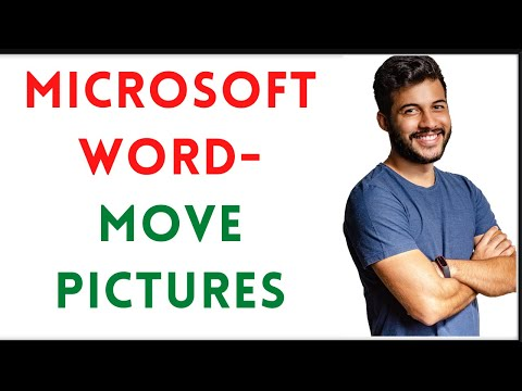 Unable To Move Images On Microsoft Word File ?