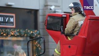 Эвакуация в ЦУМе: пожар ликвидирован