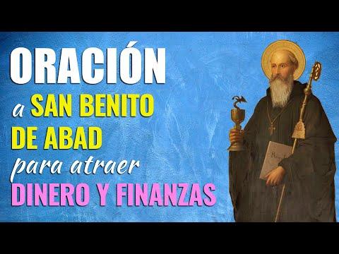 🙏 Oración Poderosa a San Benito de Abad PARA ATRAER DINERO y las Finanzas 💰