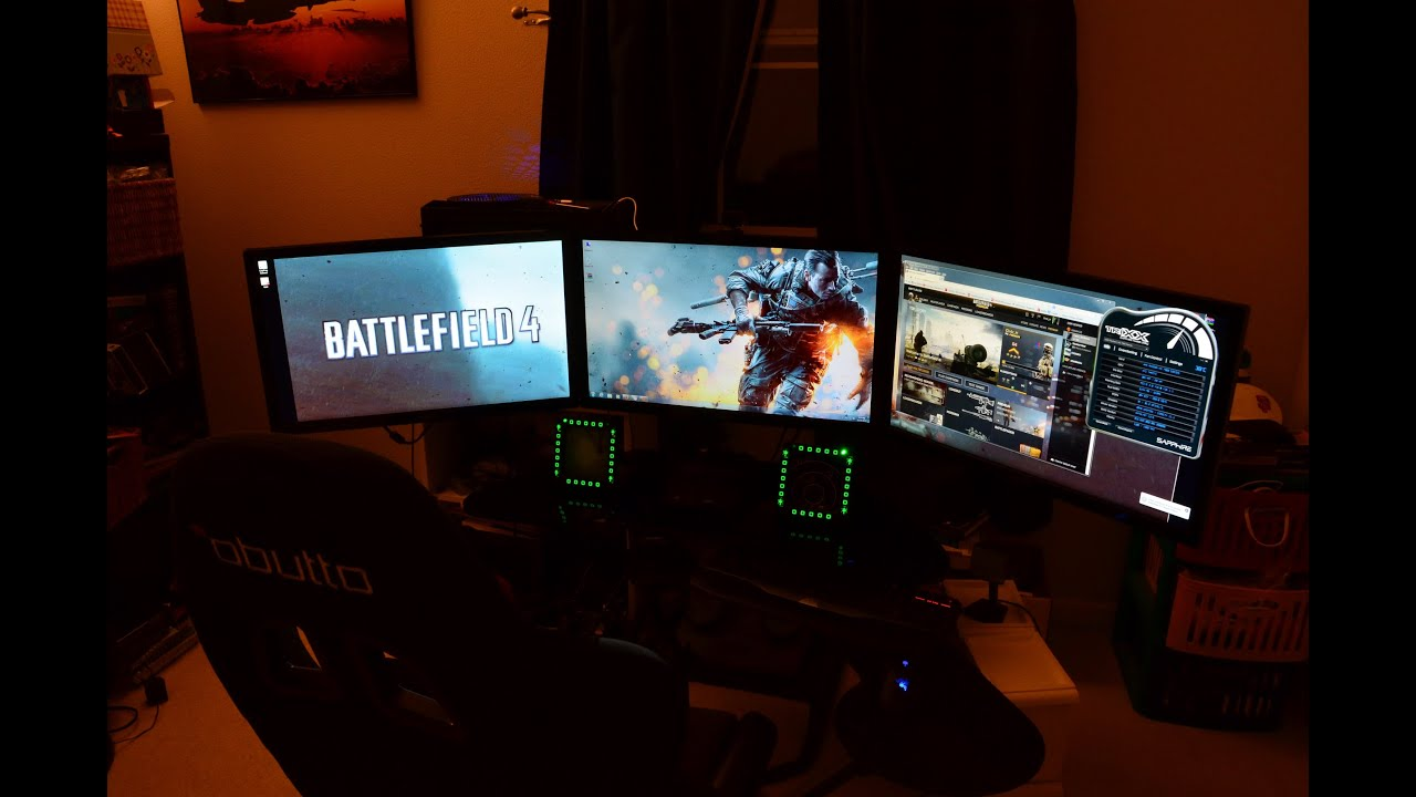 Triple monitor Nvidia Surround, i7 4790k, Gigabyte GTX 980 ...