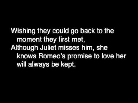 romeo and juliet and war poetry Romeo and juliet by poetry n motion lyrics video i create lyrics videos and i would appreciate any suggestions for improvement please comment hope you like.