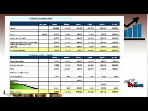 Presupuesto maestro presupuesto financiero youtube for Presupuesto para una pileta de material