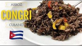 Cómo cocinar arroz moro o congri (Cubano)