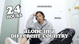24 hours alone in a different country..this is what happened..   clickfortaz