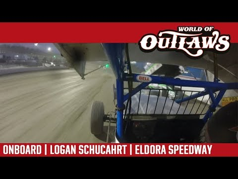 World of Outlaws Craftsman Sprint Car Series Logan Schuchart Eldora Speedway May 12, 2018 | ONBOARD