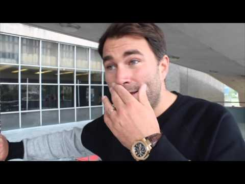 IT'S ALL OVER JOSHUA TICKETS!! EDDIE HEARN SHOCKING REVELATION HIM & DeGALE FELL OUT OVER TICKETS