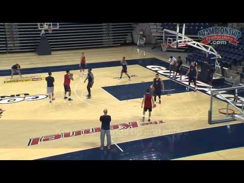 All Access Basketball Practice with Mark Few - Clip 1