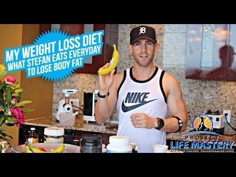 My Weight Loss Diet - What Stefan Eats Everyday To Lose Body Fat