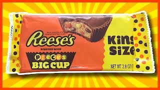 ♥ Reese's ♥ Stuffed with PIECES Big Cup • Thanks Jazz