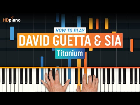 "ALL PARTS FREE – How To Play ""Titanium"" By David Guetta & Sia 