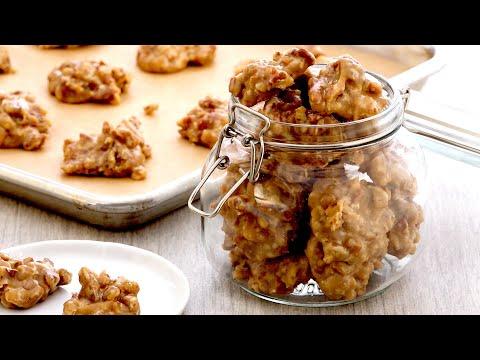 AMAZING New Orleans Pecan Pralines By Anna Olson!   Fudge Recipe