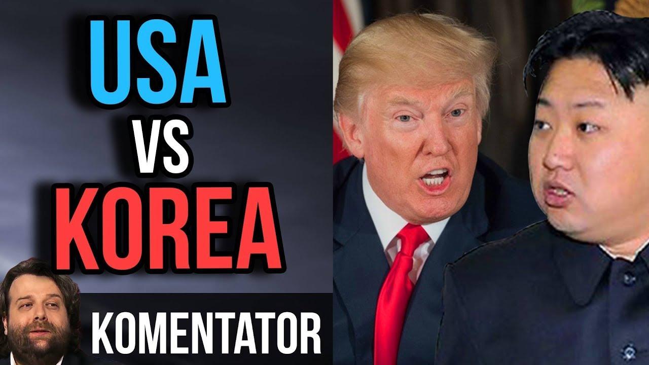 Korea Północna i USA. Czyli Kim Dzong Un i Donald Trump