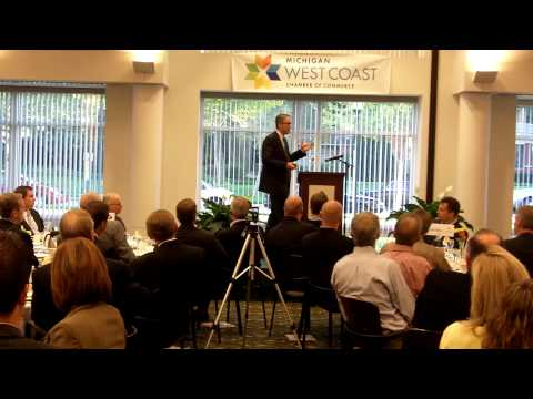 Randy Thelen at Michigan West Coast Chamber of Commerce