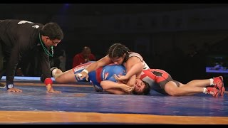 PWL 2017: Manisha VS Sakshi Malik 15th Jan | UP Dangal Vs Colors Delhi Sultans
