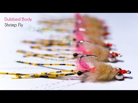 Best Saltwater SHRIMP Pattern For Redfish Or Bonefish - McFly Angler Streamer Fly Tying Tutorials
