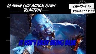 Aladdin Live Action Genie Reaction