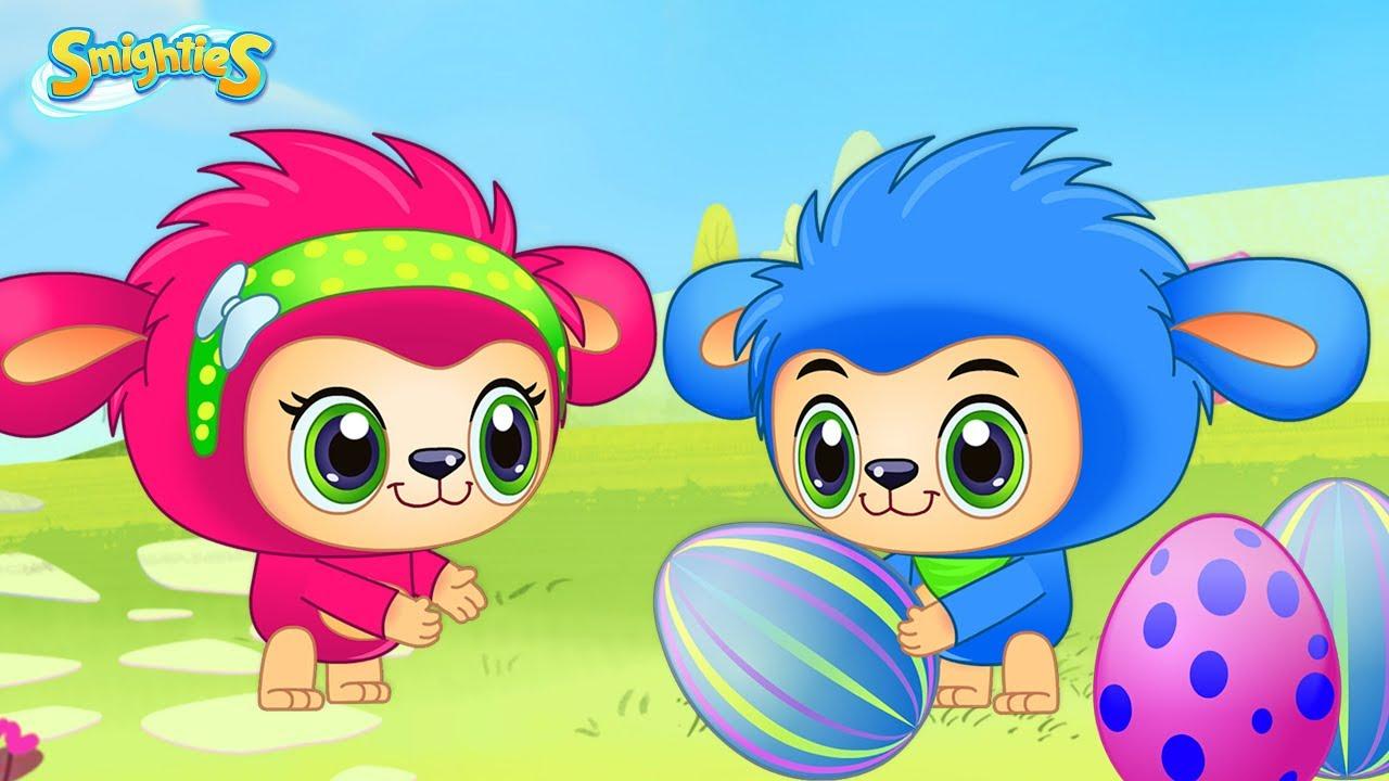 Smighties Easter Surprise Egg Hunt Cartoons For Kids Funny Children S Videos Youtube