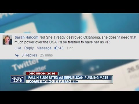 Gov. Mary Fallin possible Vice Presidential candidate?