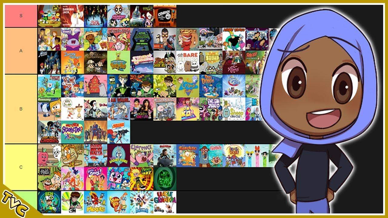 Cartoon Network Shows Tier List Youtube