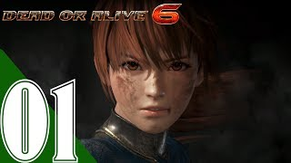 Dead or Alive 6 Walkthrough Gameplay Part 1 - Main Story Ending - No Commentary (DOA6)