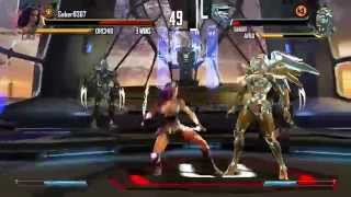 Killer Instinct - Orchid vs Aria - 55 hit Double Ultra Combo