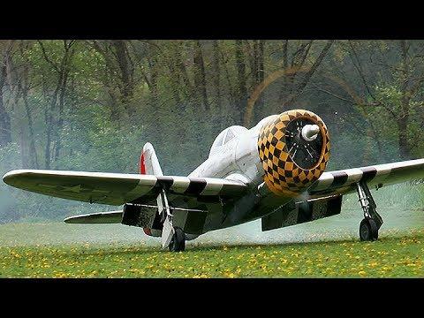 Rc P-47 Thunderbolt *Maiden* Moki 180cc